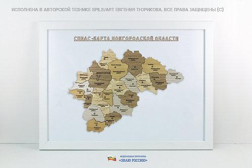 Новгородская область - спилс-карта стандарт