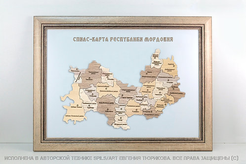 Спилс-карта Мордовии стандарт плюс