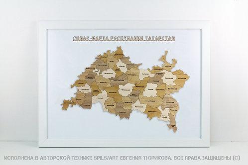 Татарстан - спилс-карта стандарт