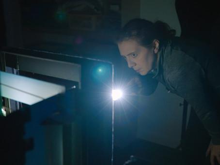 Day 489 - Karen Dunbar stars in short film made in our darkened theatre