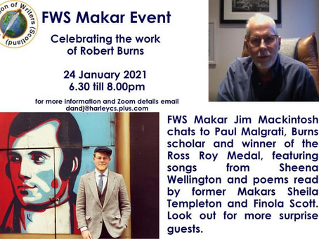 Day 309 - Burns Celebration with Makar Jim Mackintosh