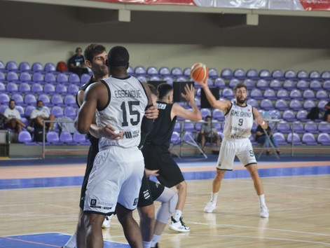 Ameghino tropezó en el primer juego en La Rioja