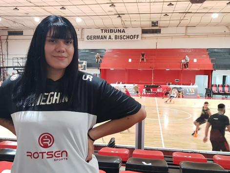Camila Ferreyra: Hace cuatro meses no jugaba al básquet, hoy forma parte de un plan de la CABB