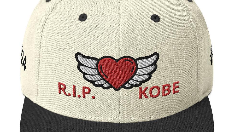 Snapback Hat - RIP KOBE #24 #8