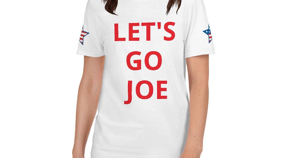 Short-Sleeve Unisex T-Shirt KenYUCK LET'S GO JOE vote 2020