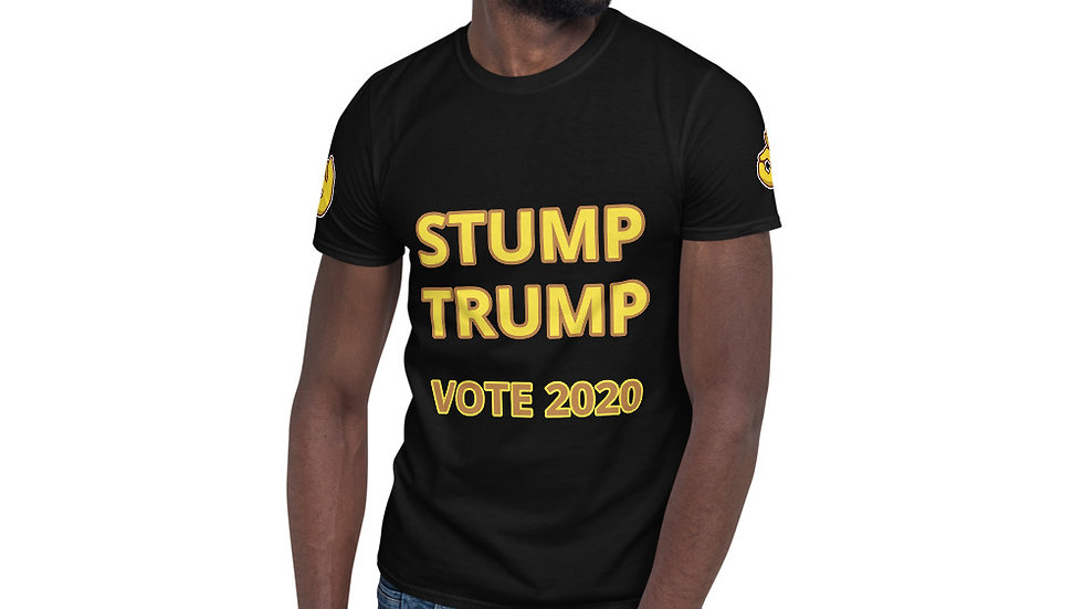 Short-Sleeve Unisex T-Shirt KenYUCK STUMP TRUMP vote 2020