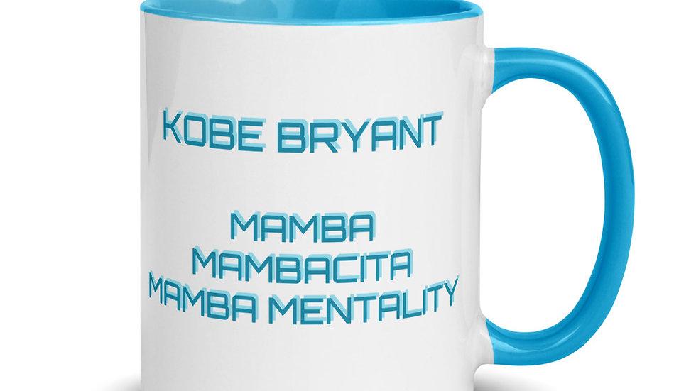 Mug with Color Inside - Kobe Bryant Mamba Mambacita Mamba Mentality