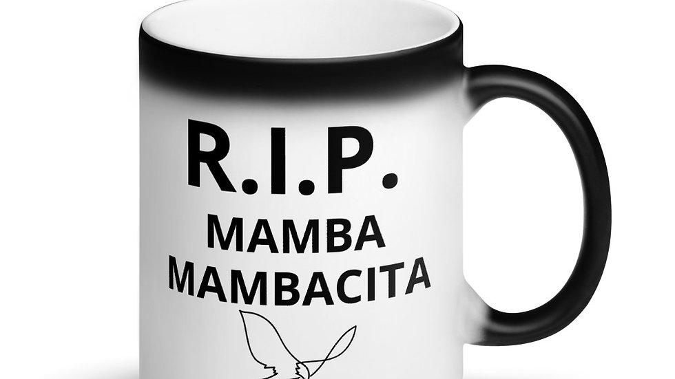 Matte Black Magic Mug - RIP KOBE MAMBA MAMBACITA