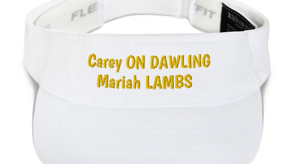 Visor Carey on DAWLING Mariah Carey LAMBS
