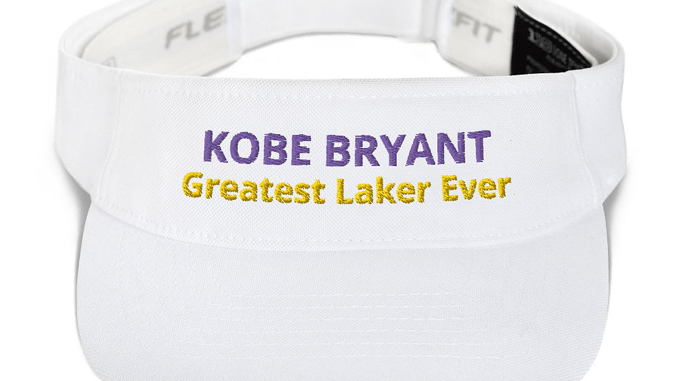 Visor - Kobe Bryant Greatest Laker Ever