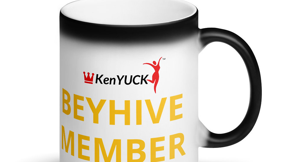 Matte Black Magic Mug -KenYUCK  Beyhive Member