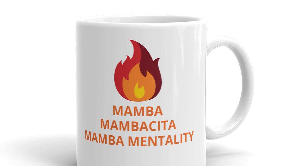 Mug - FIRE  MAMBA, MAMBACITA, MAMBA MENTALITY