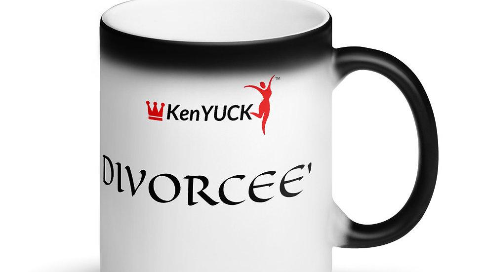 Matte Black Magic Mug  KenYUCK - DIVORCEE'