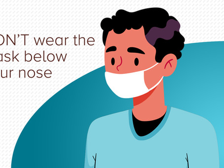 How Not To Wear Your Face Mask
