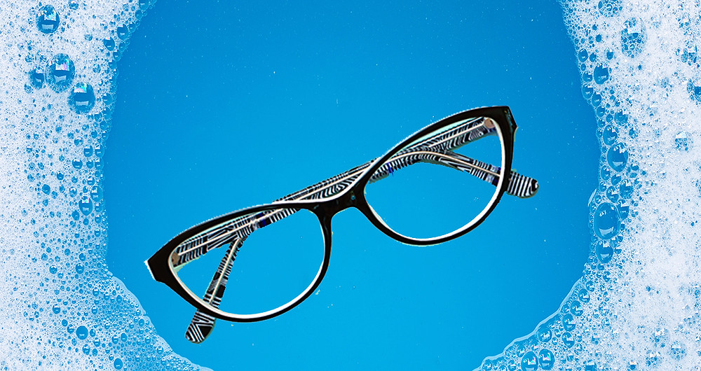 Use soapy water to create a barrier to protect the glasses from fogging