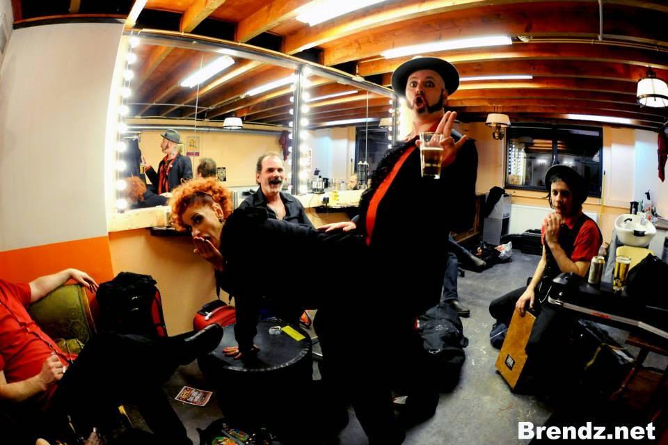 Backstage Fun!