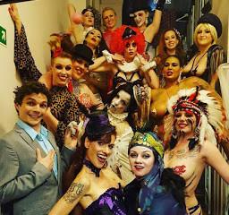 "London Burlesques Festival ""Sexy Circus sideshow""."