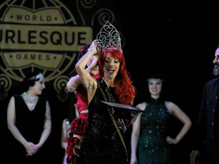 A little Interview for Burlesque Magazine.Twisted Crown Holder 2014