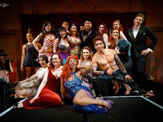 Last Night for London burlesque festival