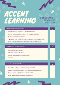 Lucid Accent | Consultation Readiness Checklist