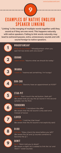 9 Examples of Native English Speaker Linking