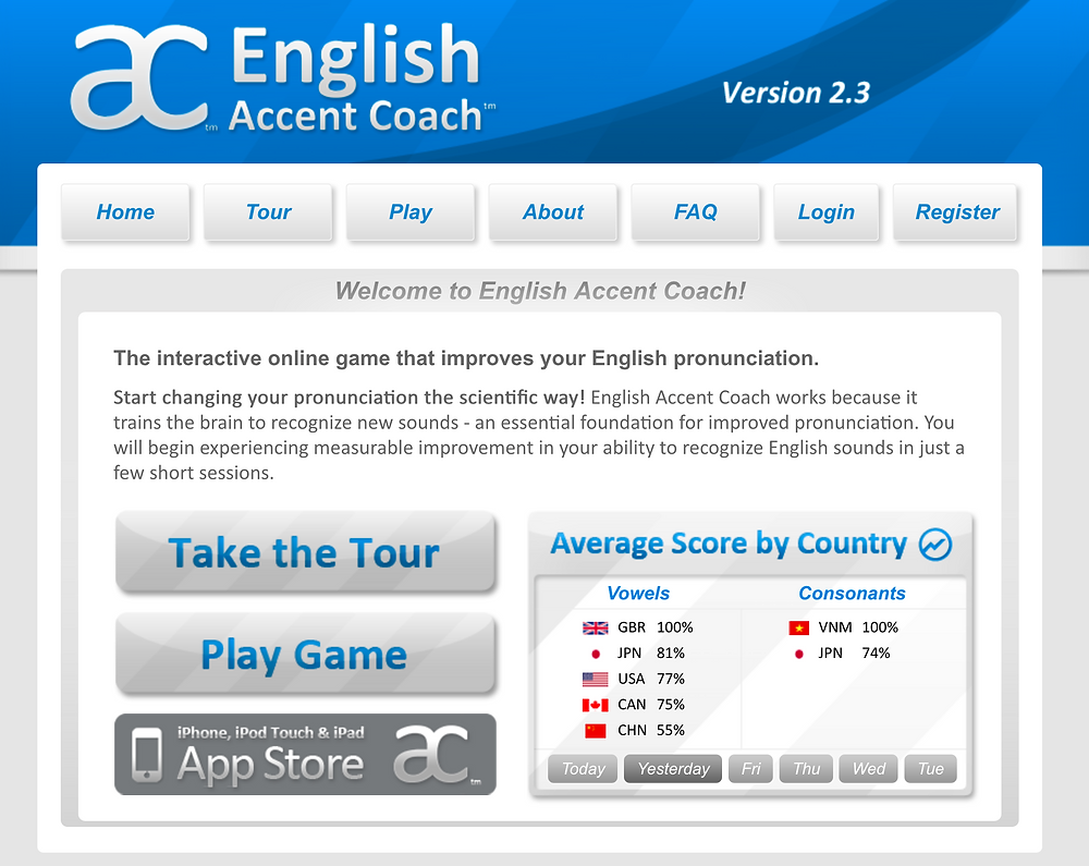 English Accent Coach