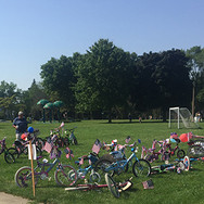4th of July parade bikes