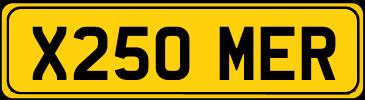 X250 MER
