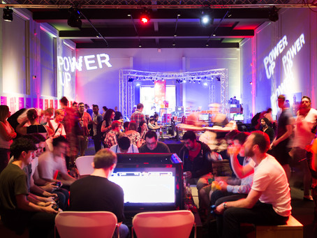 'Power UP' for a Spectacular Games Exhibition