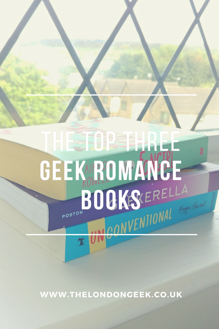 The Top Three: Geek Romance Books