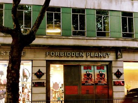 Geek Shopping HQ at Forbidden Planet London