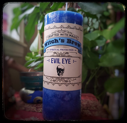 Evil Eye (large candle)