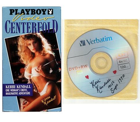 Kerri Kendall Autographed Playboy Video Centerfold - DVD