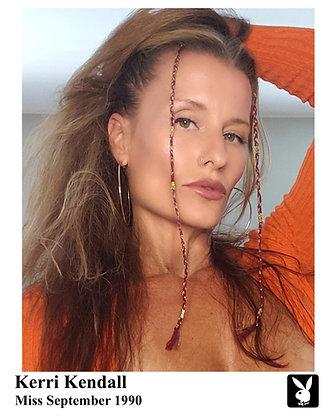 Playboy Promo Pic Orange Sweater