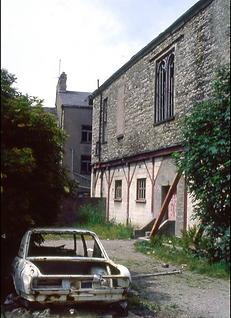 Derelict Victoria Hall Ulverston