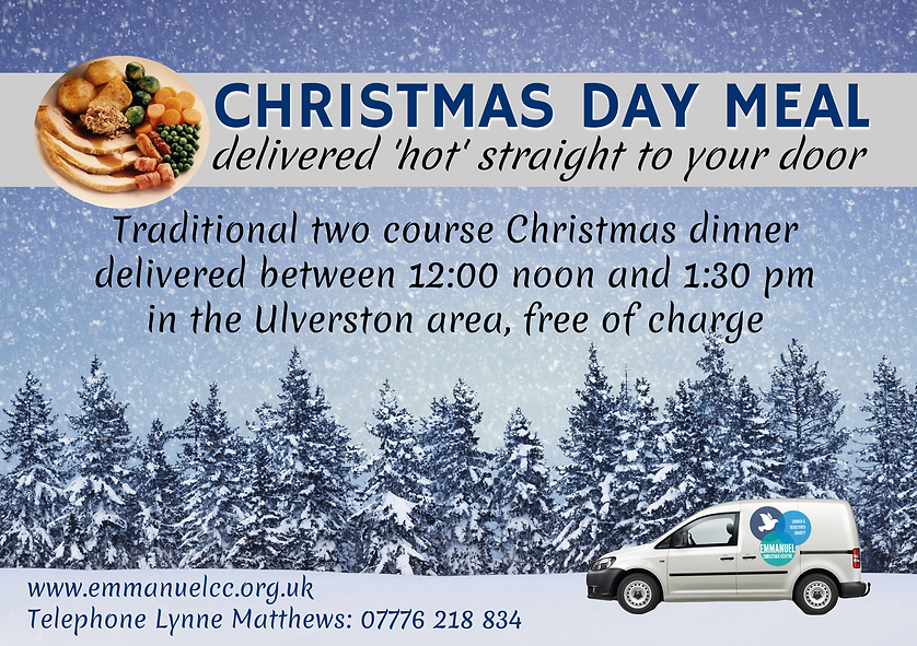 Ulverston Christmas Poster