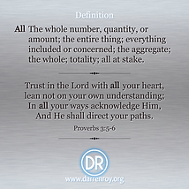 Proverbs 3 quote