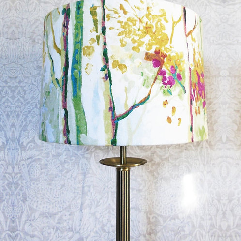 Seasons Silver Birch Orchid Lampshade