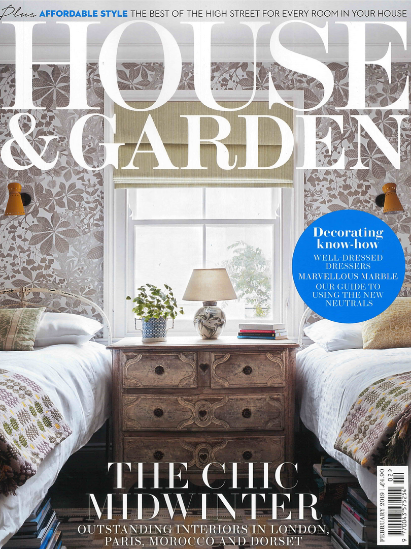 House and Garden Magazine February 2019