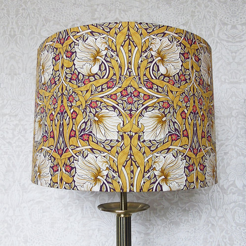 Mustard William Morris Pimpernel Lampshade