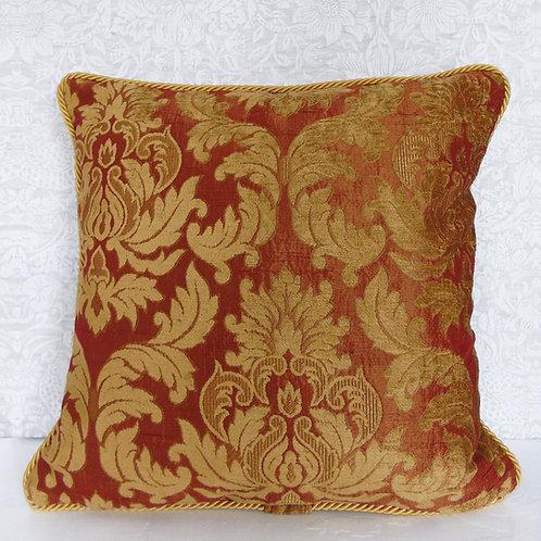 "Jim Dickens Imogen Brocade Cushion 20"" x 20"""