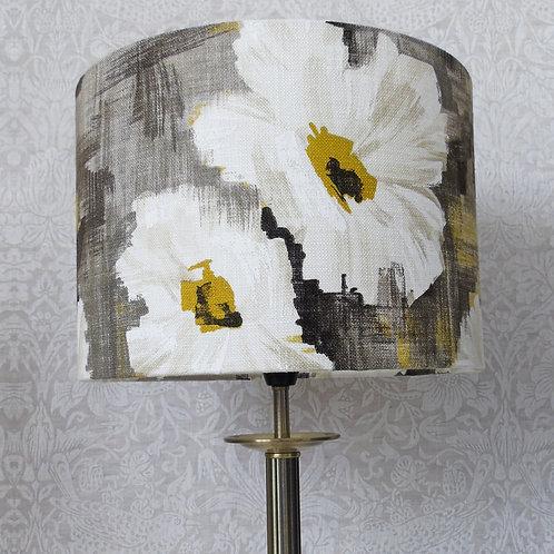 Harlequin Giverny Mustard Grey Floral Lampshade