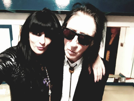 On Tour with John Cooper Clarke