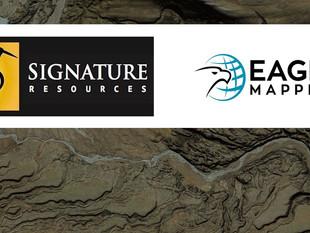 Signature Resources moves forward with a LiDAR survey at Lingman Lake