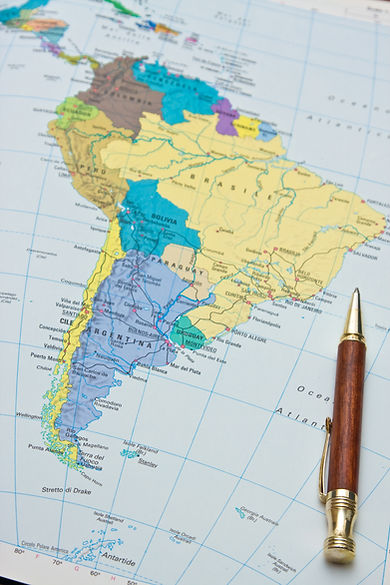 Central & South America Map