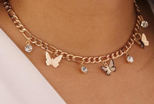 Butterfly Choker