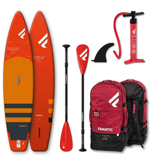 Fanatic SUP Ripper Air 2020 Touring Pack - Kinder SUP - Aufblasbar mit Paddle