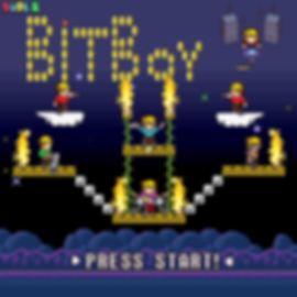 Super Bit Boy 8-bit album cover