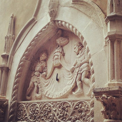 #door #frame #sibenik #daytour #croatia #history #architecture