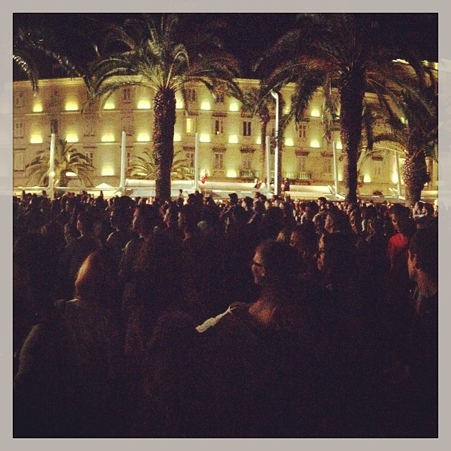 #crowds #concert #croatia #split #music